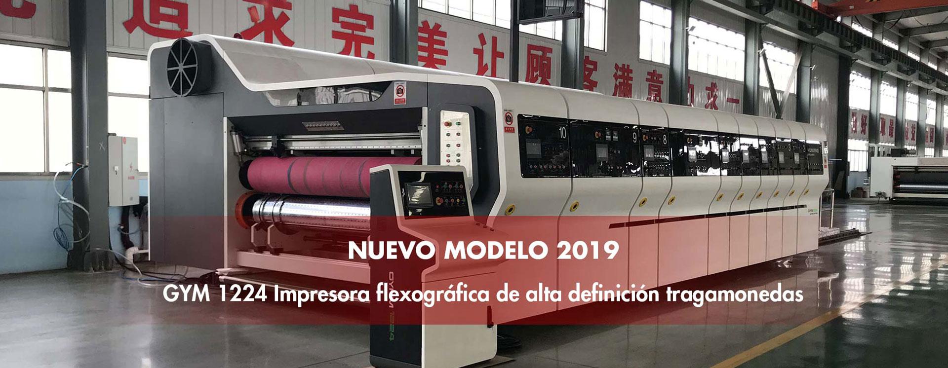 Impresora Flexográfica Slotter Troqueladora