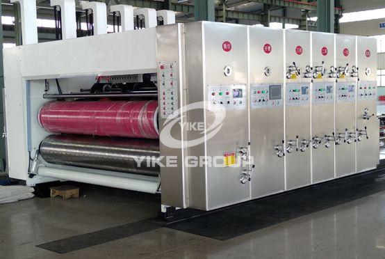 Impresora de alta velocidad Flexo Slotter Die Cutter Machine