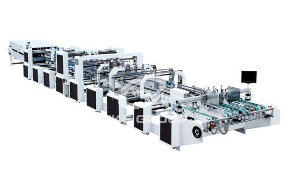 Máquina plegadora de cuatro esquinas con cuatro esquinas 4.6