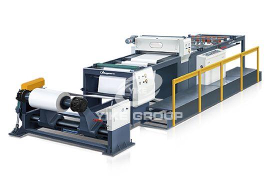 Máquina cortadora de hojas de papel