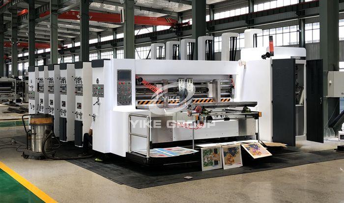 Máquina de corte con tintas de la impresora flexográfica de alimentador Edge Edge