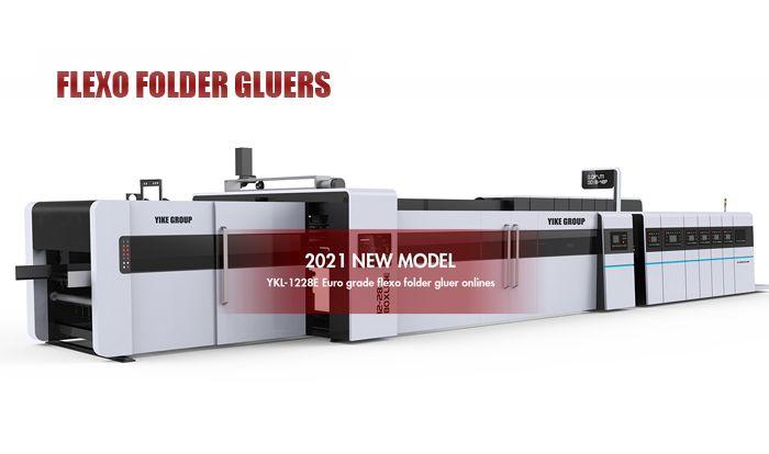 FFG-Flexo Impresora Slotter Die Cutter con Folder Gluer en línea